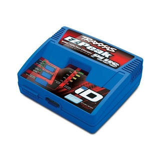 Charger, EZ-Peak Plus, 4 amp, LiPo/NiMH with iD