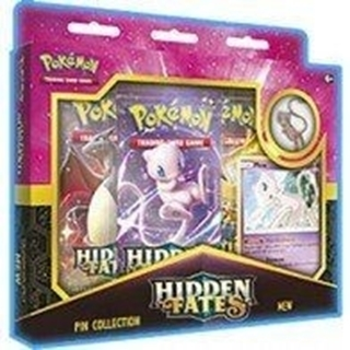 Hidden Fates Pin Collection Mew/Mewtwo