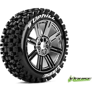 1/8 Scale Off Road Buggy Tires-Mounted