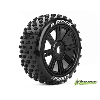 B-Rock 1/8 Off Road Buggy Tires Mounted 17mm