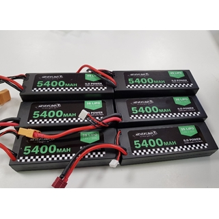 3S Lipo Ilo Power 5400mAh EC-5