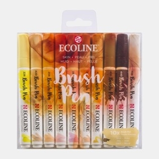 Ecoline Brush pen skin set