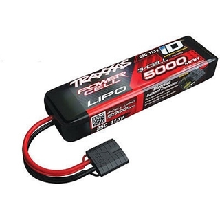Power Cell LiPo 5000mAh 11.1V 3S 25C ,ID