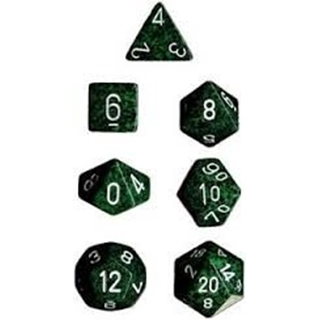 Recon Speckled Polyhedral 7 Dice Set