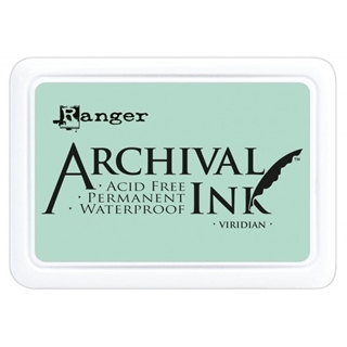 Archival ink pad viridian