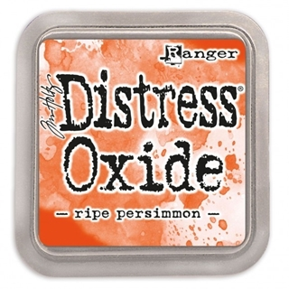 Tim Holtz distress oxide ripe persimmon
