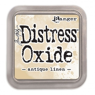 Tim Holtz distress oxide antique linen