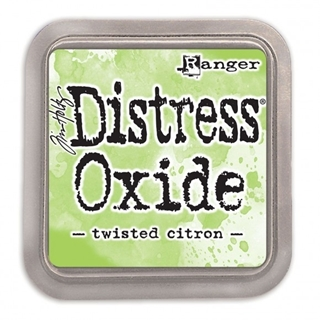 Tim Holtz distress oxide twisted citron
