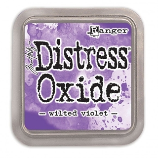 Tim Holtz distress oxide wilted violet