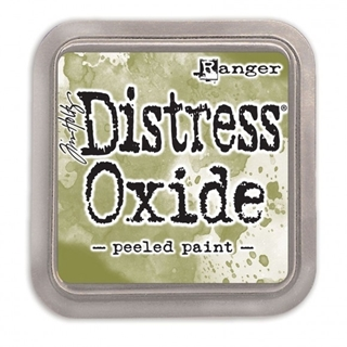 Tim Holtz distress oxide peeled paint
