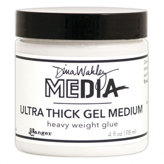 Ranger Dina Wakley media ultra thick gel medium 4o