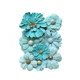 Creative elements handmade paper symphony flowers