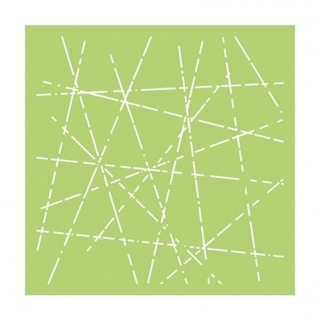 "Kaisercraft designer template 6x6"" criss cross"