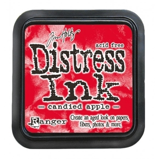 Tim Holtz distress ink pad candied apple