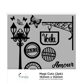 Imagination Crafts Magi Cutz - Franse Straat (2 Pa