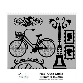 Imagination Crafts Magi Cutz - Vintage Franse (2 P