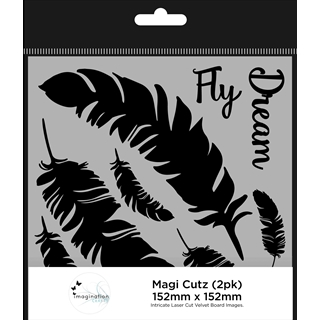 Imagination Crafts Magi Cutz - Vliegen Droom (2 Pa