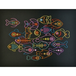 Beads Kit Line Fishes