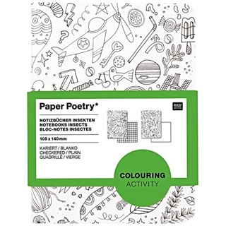 Paper Poetry Notebooks A6 Insecten