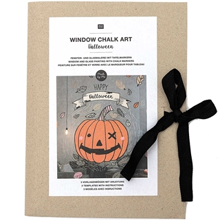 Window chalk art HALLOWEEN MIX