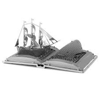 Metal Earth Moby Dick Book Sculpture