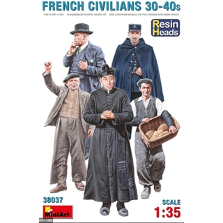 French Civilians 30-40s