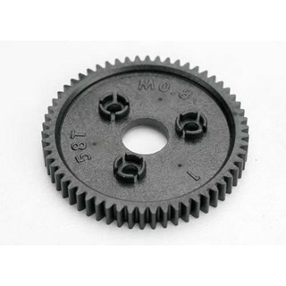 Spur Gear, 58-Tooth (0.8 Metric Pitch)