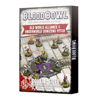 Blood Bowl: old world + underworld pitch