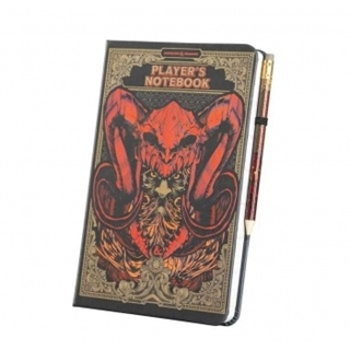 D&D Notebook and Pencil
