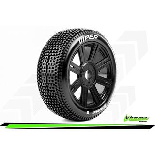 1/8 Scale Off Road Buggy Tires hex17 Mounted