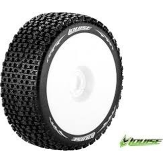 1/8 Scale Off Road Buggy Tires Hex 17 Mounted
