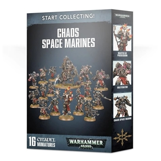 Start to collect! Chaos Space Marines