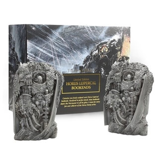 Horus Lupercal Bookends - Limited Edition