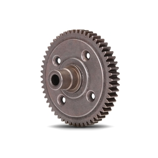 Spur gear, steel, 54-tooth (0.8 metric pitch, comp