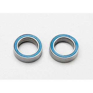 Ball Bearings, Blue Rubber Sealed (8X12X3.5Mm) (2)