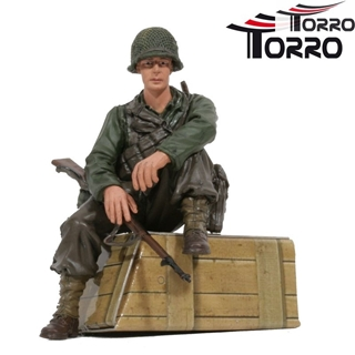 1/16 Figure US Private 1st Class Infantry Sitting