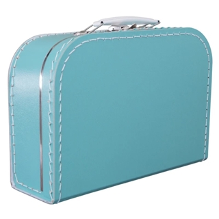 Kinderkoffer TURQUOISE 25cm