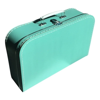 Kinderkoffer TURQUOISE 35cm