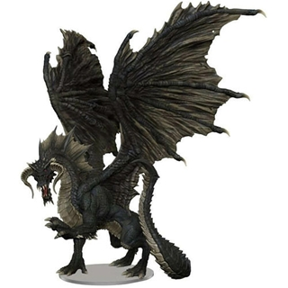 D&D - Icon of the Realms - Adult Black Dragon