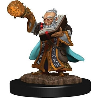 D&D - Icon of the Realm - Gnome Wizard Male