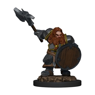 D&D - Icon of the Realm - Dwarf Fighter Male