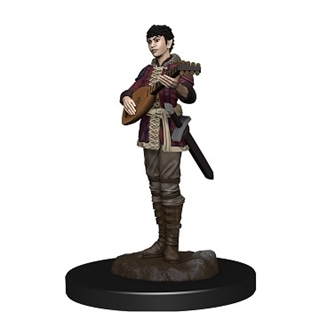 D&D - Icon of the Realm - Half-Elf Bard Female