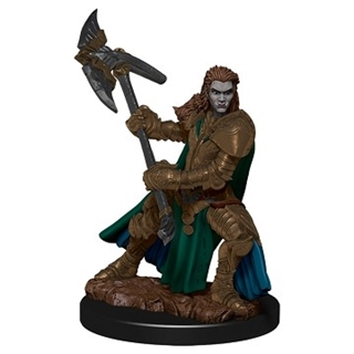 D&D - Icon of the Realm - Half-Orc Gighter Female
