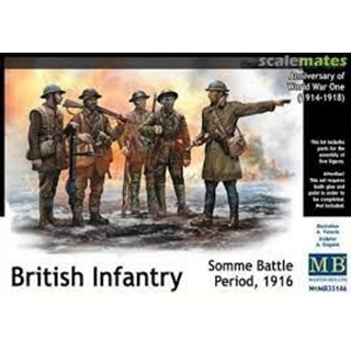 British Infantry, Somme Battle