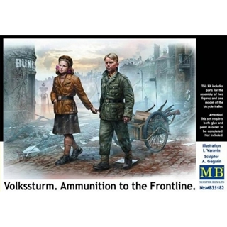 Volksturm, Ammunition to the frontline