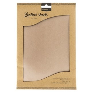 Fake Leather sheets Antique Bronze