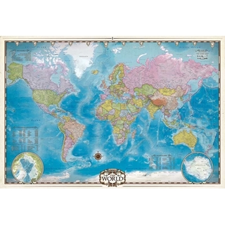 Map of the World 2000 st